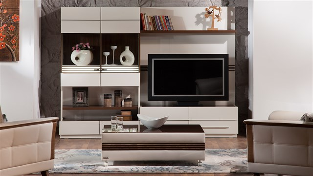 Caprice Tv Bänk Hyllsystem