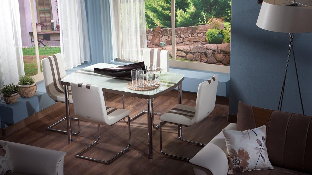 Line Kökbord och Stol