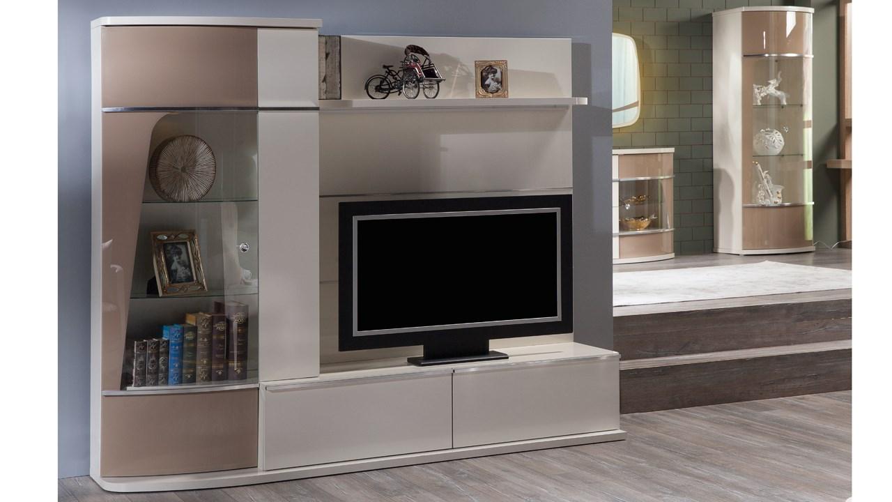 Olivia Tv Bänk Hyllsystem