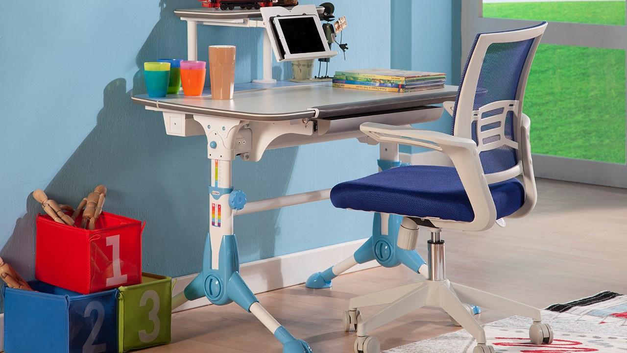 Step Skrivbord Blå