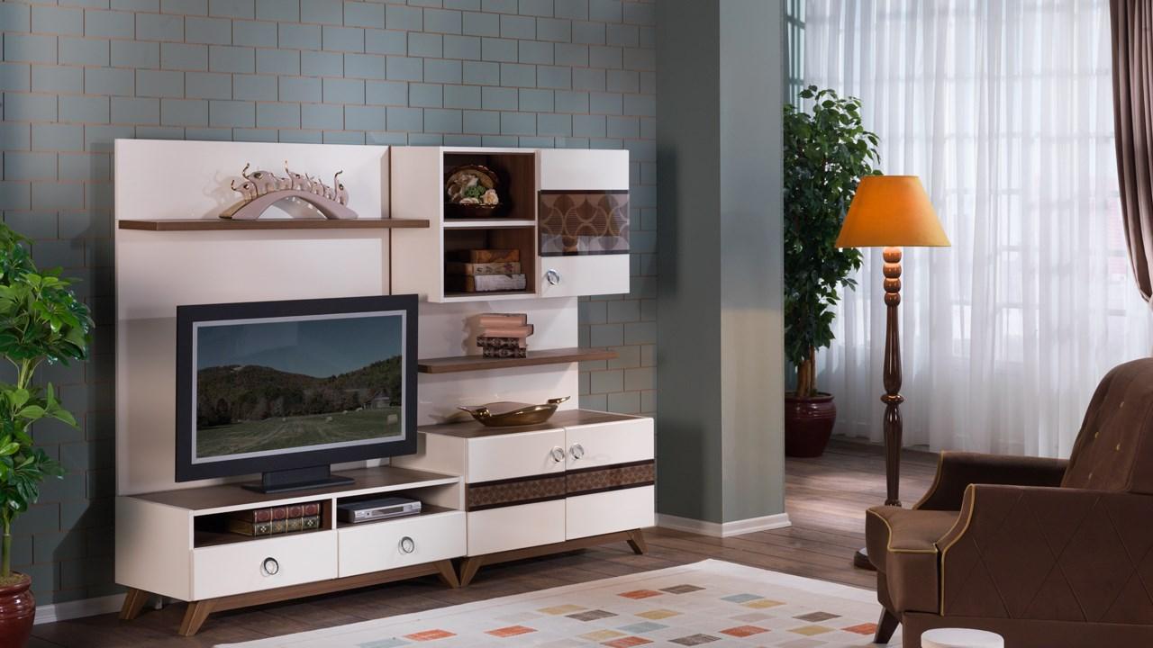 Siena Tv Bänk Hyllsystem